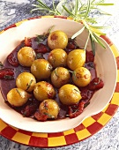 Cipolle agrodolci (marinated onions, Italy)