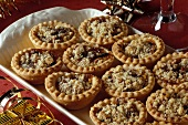 Mince pies: tartlets with mincemeat filling