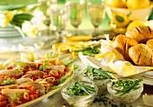 Osterbrunch: Forellenfilets,Tomatenbrote & Pilz-Butter