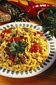 Lamb Biryani - rice dish with spices, lamb & tomatoes