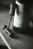 Wine Bottle; Corkscrew