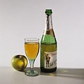 """El Gaitero"" cider - apple wine from Asturias (N. Spain)"