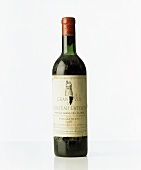 Luxury article: a bottle of 1956 Chateau Latour