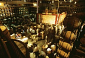Wine auction at St. Supery Winery, St. Helena, California