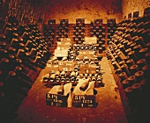 Champagner (1874 bis 1970) im Keller von Pommery, Reims