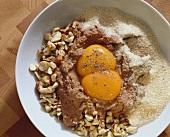 Leber-Nuß-Füllung mit Geflügelleber & gehackten Haselnüssen