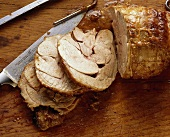 Turkey rolled roast cut