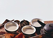 Three Cups of Spice Tea; Tea Kettle