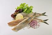 Matjes Herring Fillets with Vegetables