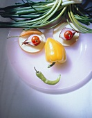 A Face Made From Vegetables