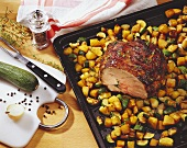 Easter Lamb with Herbed Potatoes; Ingredients