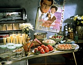 1950's Party Buffet; Cocktails and Appetizers