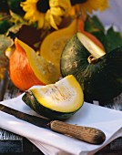Buttercup Squash in Wedges