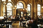 Café Central in Vienna (interior)