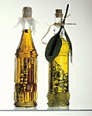 Two Bottles of Assorted Herb Oil