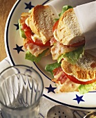 BLT on French Bread