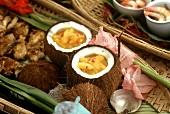 Mango Chutney in Coconuts
