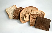 Brotscheiben (Toast,Schinkenschnitte,Mischbrot,Mehrkornbrot)