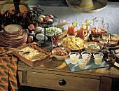 Large Mexican Party Buffet