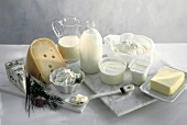 Assorted Milk Products