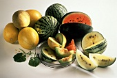 Several Assorted Melons