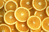 Many Orange Slices in a Pile