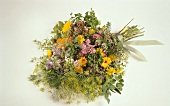 Herb Bouquet with Assorted Blooming Herbs