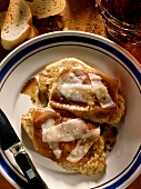 Veal Escalopes with Ham