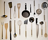 Several Kitchen Tools and Utensils