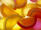 Candy Jelly Fruit Close Up