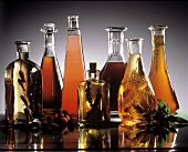 Assorted Vinegars and Oils