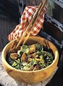 Caesars Salad - Romanasalat mit Knoblauchcroutons