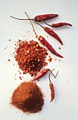 Chili Powder; Crushed Red Pepper; Chili Peppers