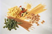 Still Life of Assorted Types of Pasta