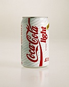 A can of Coca Cola light