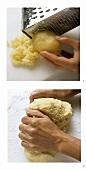 Making potato pastry