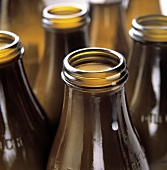 Brown Bottles of Milk