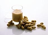 Fresh Whole Peanuts; Peanut Butter in Jar