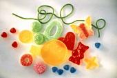 Auswahl beliebter Süssigkeiten für Kinder