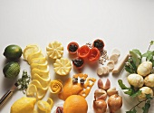 Small food carvings - an ideal table decoration