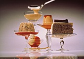 Five classic desserts