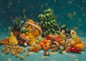 Assorted Tropical Fruit Still Life