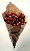 Cherries in a Paper Bag