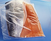 Salmon in a Plastic Bag