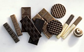 Many Assorted Chocolate Bars