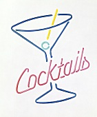 Neon Sign for Cocktails