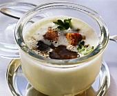 Trüffel-Kartoffel-Süppchen im Glas