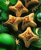 Filled cookies (Pfaffenhütchen)
