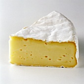 A Wedge of Camembert Cheese