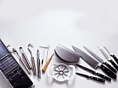 Assorted Kitchen Tools; Knives and Carving Utensils
